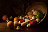 Still Life - Vegetables by Michael Cahill